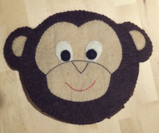 Kid's Monkey Backpack